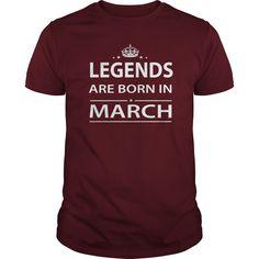 BORN IN MARCH Shirts TShirt Hoodie Shirt VNeck Shirt Sweat Shirt for womens and Men