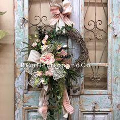 Details about  /Rustikaler Corona Decoración Para Individual Decoraciones Puerta Ventana Adorno