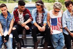 Outtake from a 2013 One Direction photoshoot taken by Mark Hayman!