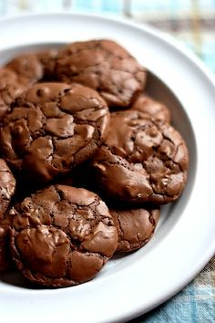 Brownie-Chocolate Chip Cookies