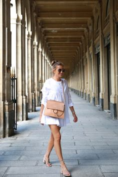 bartabac paris white dress chloe bag mango sandals-2