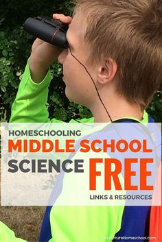 Homeschooling Middle School Science Free Links & Resources