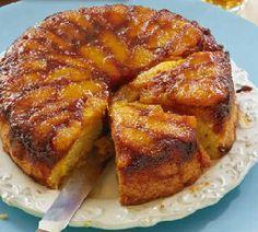 Omgekeerde sinaasappelcake met karamel - Recept - Jumbo Supermarkten