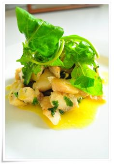 butter-poached tilapia with parsley recipe