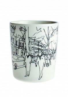 Marimekko Hetkia Moments Mug without Handle from Crate and Barrel. Saved to just plain cool. Marimekko, Crate And Barrel, Latte Mugs, Coffee Mugs, Diy Sharpie Mug, Sharpie Crafts, Diy Mugs, Porcelain Mugs, Painted Porcelain