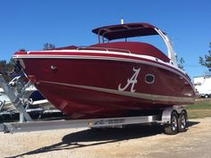 Chaparral 277 SSX Bowrider. Roll Tide! Good luck on the championship tonight from all of us at Sunrise Marine Alabama!