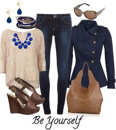 """""""Be Yourself"""" by rooney-chu on Polyvore"""