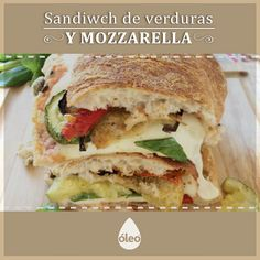 La Inutilisima Tefi Russo y una receta deliciosa y fácil para preparar un sandwich de verduras y muzzarella. ¡Riquísimo! Enterate en http://dixit.guiaoleo.com.ar/sandwich-de-verduras-y-mozzarella/