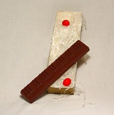 Solid Chocolate Piano Keys 1 piece ** For more information, visit image link.
