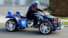 The world's most radical quad bike?