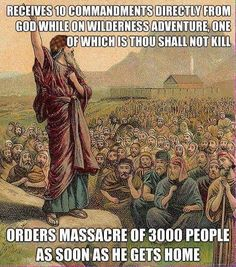 Exodus 32:28 And the children of Levi did according to the word of Moses: and there fell of the people that day about three thousand men