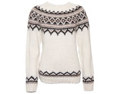 Brynja Icelandic Wool hand knitted Jumper Traditional Pattern