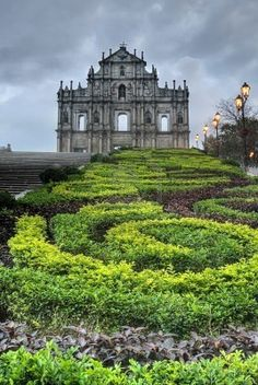 St. Paul ruins, Macau- Macau was a Portugese colony until it was handed over to China in 1999. It is now one of 2 special administrative regions, along with Hong Kong. It has a beautiful Old City, as well as several large modern casinos.