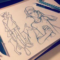 Anna Cattish — #sketching #myzhyk:                                                                                                                                                                                 Más