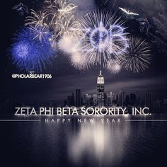 Very cool New Year pic, only with Phi Mu instead! <3