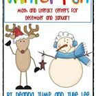 Winter Centers for Math and Literacy by Deanna Jump & Julie Lee - These centers are a wonderful addition to your classroom for December and January.  This packet is full of literacy and math centers to help kick o...