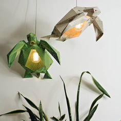 Taking inspiration from the Dutch seaside, Netherlands-based design studio VasiliLights produces both DIY and fully-assembled paper light shades in the form of aquatic life. The paper shades come in a variety of colors and sizes, you can see more in their shop. (via So Super Awesome)