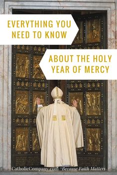 As the Year of Mercy begins, here is your primer on everything you should know to fully celebrate this special event in the life of the Church.