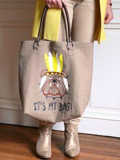 DIY Un sac avec du chien. (http://bmade.canalblog.com/archives/2014/05/22/29903598.html)