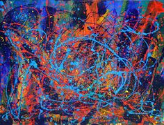 Abstract Artist: Nestor Toro Medium: Acrylic Website: www.nestortoro.com Facebook Page: