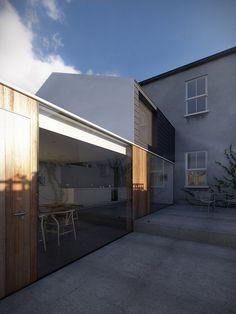 Dublin House Extension Sunny 1725 by Daniel James Hatton, via Flickr