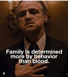 The family isn't always blood. I miss my Brotherhood now I walk alone & still a badass but trust no one Boss Quotes, Truth Quotes, Wisdom Quotes, Me Quotes, Motivational Quotes, Funny Quotes, Inspirational Quotes, Godfather Quotes, Gangster Quotes