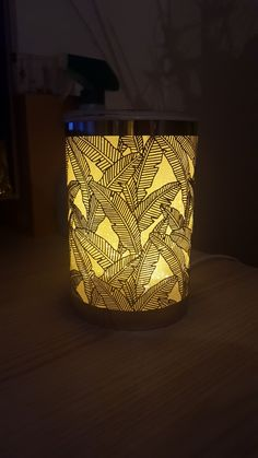 Partylite Elektrische Duftlampe silberne Palme