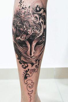 Tattoo Artist - Led Coult Tattoo  - face tattoo