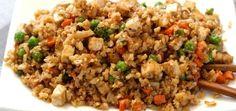 Cauliflower Fried Rice with Tofu...this recipe looks AMAZING!