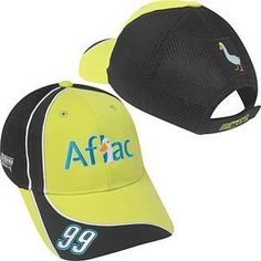 Carl Edwards 99 Aflac Nascar Pit Cap by Motorsport Authentics. $15.99. This is an officially licensed nascar product brand new never worn 100 authentic product includes all tags from manufacturer top quality one size fits all velcro back flex fit trackside pit cap