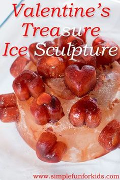 Hunt for Valentine's treasure in a fun little ice sculpture - and learn some science along the way! Great for toddlers, preschoolers, and kindergartners.