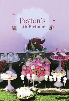 """Photo 1 of 24: Enchanted Forest/Woodland Fairy / Birthday """"Peyton's 4th Birthday"""" 