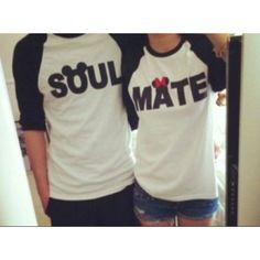 Best shirts ever! My future husband and I will most likely be sporting these bad boys around. haha.