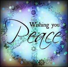 Wishing all my fellow sufferers peace and strength to face each day.