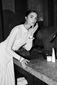 Model Mariacarla Boscono Shares Her Beauty Routine: We've outlined the secrets to Mariacarla Boscono's beauty below, which include frequenting steam rooms, not giving up pasta, and finding beauty in age.  |  coveteur.com