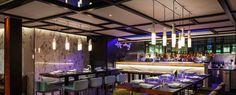 Nulty Bespoke - Yauatcha - Custom Handcrafted Tube Bone China Pendants Restaurant Bar Lighting Design
