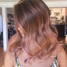 20 Rose Gold Haarfarbe Ideen + Tipps Wie Färben
