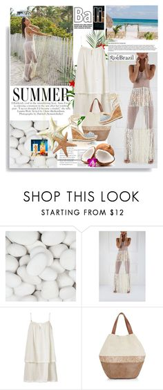 """""""Rickibrazil.com: Summer"""" by hamaly ❤ liked on Polyvore featuring Heidi Klein, New Look, Sole Society, ootd, dresses, beachstyle and rickibrazil"""