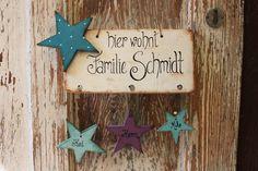 Türschild von *Smukt Liv* auf DaWanda.com
