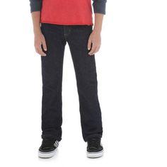 Wrangler Boys' Classic Slim Straight Jean, Size: 10 REG, Blue