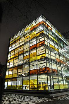 Hamburg - Rotherbaum, Rothenbaumchaussee, Zentralbibliothek Recht der Universität Hamburg