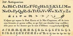 Antiquarian™ font download