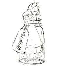 Alice and wonderland drawings in wonderland john scene animation drawing white rabbit alice in wonderland drawing . alice and wonderland drawings Disney Kunst, Art Disney, Disney Concept Art, Disney Love, Alice Disney, Cinderella Disney, Disney Princess, Disney Tattoos, Disney Sleeve Tattoos