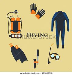 Set for diving