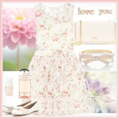 Designer Clothes, Shoes & Bags for Women Summer Garden, Christian Dior, Table Decorations, Jennifer Meyer, Polyvore, Stuff To Buy, Salvatore Ferragamo, Ted Baker, Collection