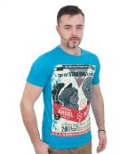 """T-Shirts - True Wisdom - Style 07 (Turquoise)  True Wisdom