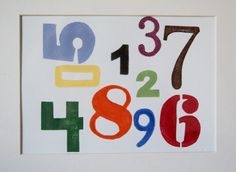 Cuadro de números