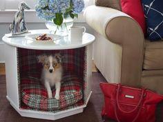 DIY: Combiner table dappoint et lit pour animal de compagnie