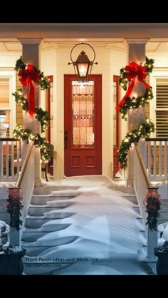 Bring Cheer To Your House This Holiday Season With These Easy Porch  Decorating Ideas. Christmas Porch Decoration Ideas Please Enable JavaScript  To View The ...