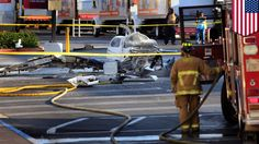 San Diego plane crash: One dead after small plane crashes in Costco park...